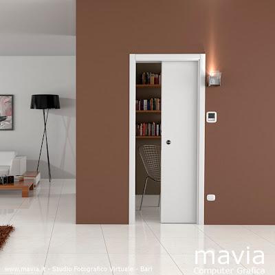 Arredamento di interni rendering porte per interni 3d for Programma 3d per interni