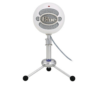 Blue Snowball Condenser Microphone