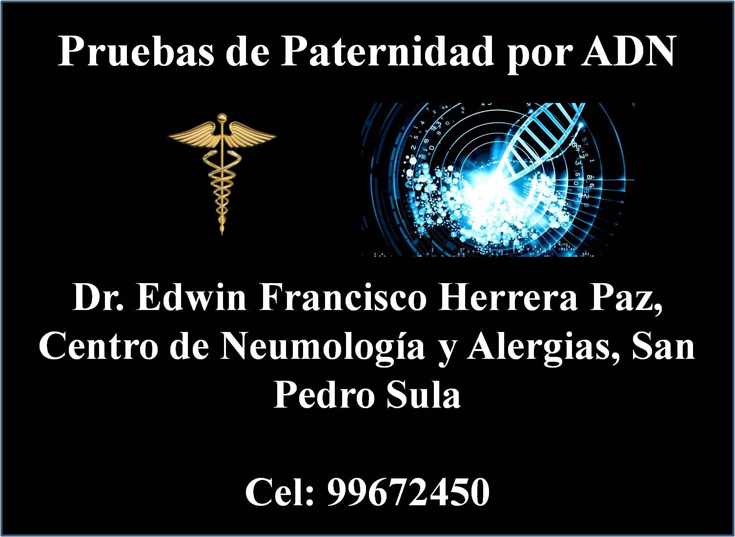 PRUEBAS DE PATERNIDAD EN HONDURAS