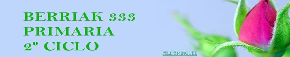 BERRIAK333 Primaria Segundo ciclo