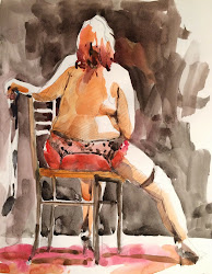 Figure Painting of the Month: December