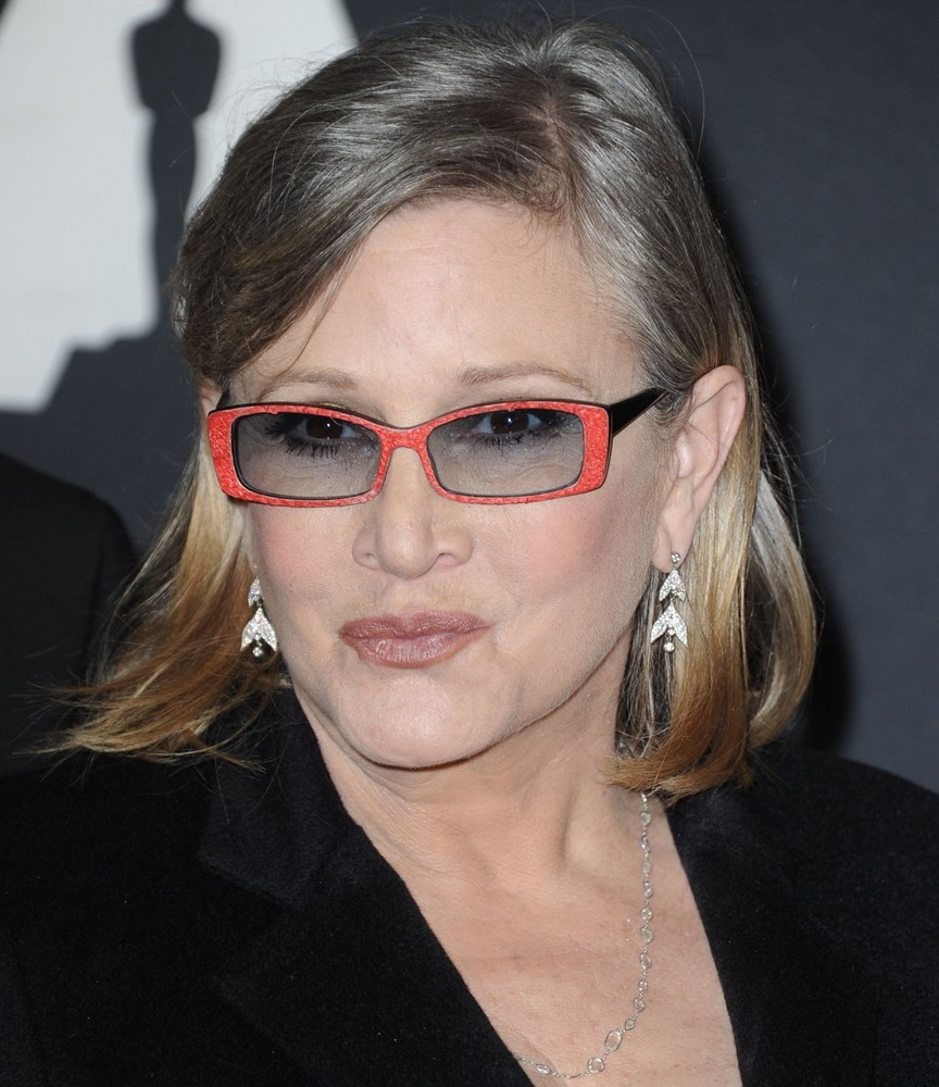 CARRIE FISHER, A JUNKIE