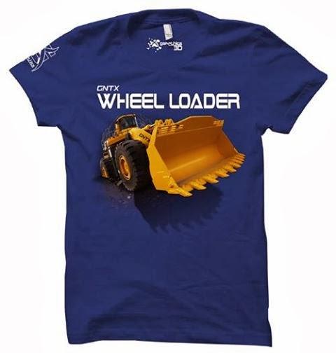 kaos 3D wheel loader