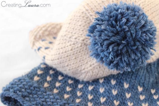 Stranded Knitting Patterns : Creating Laura: Precip Hat Knitting Pattern