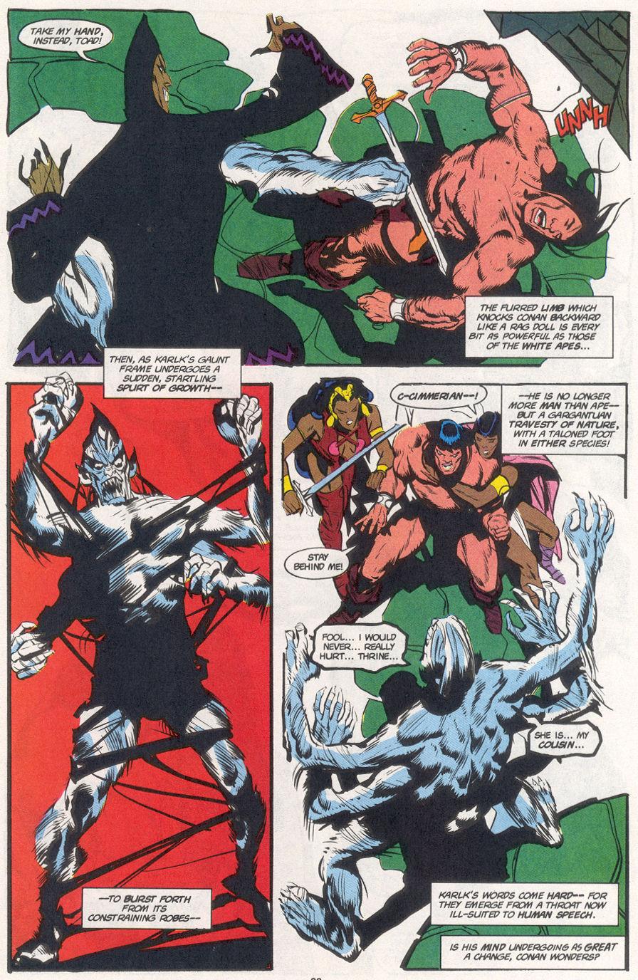 Conan the Barbarian (1970) Issue #265 #277 - English 18