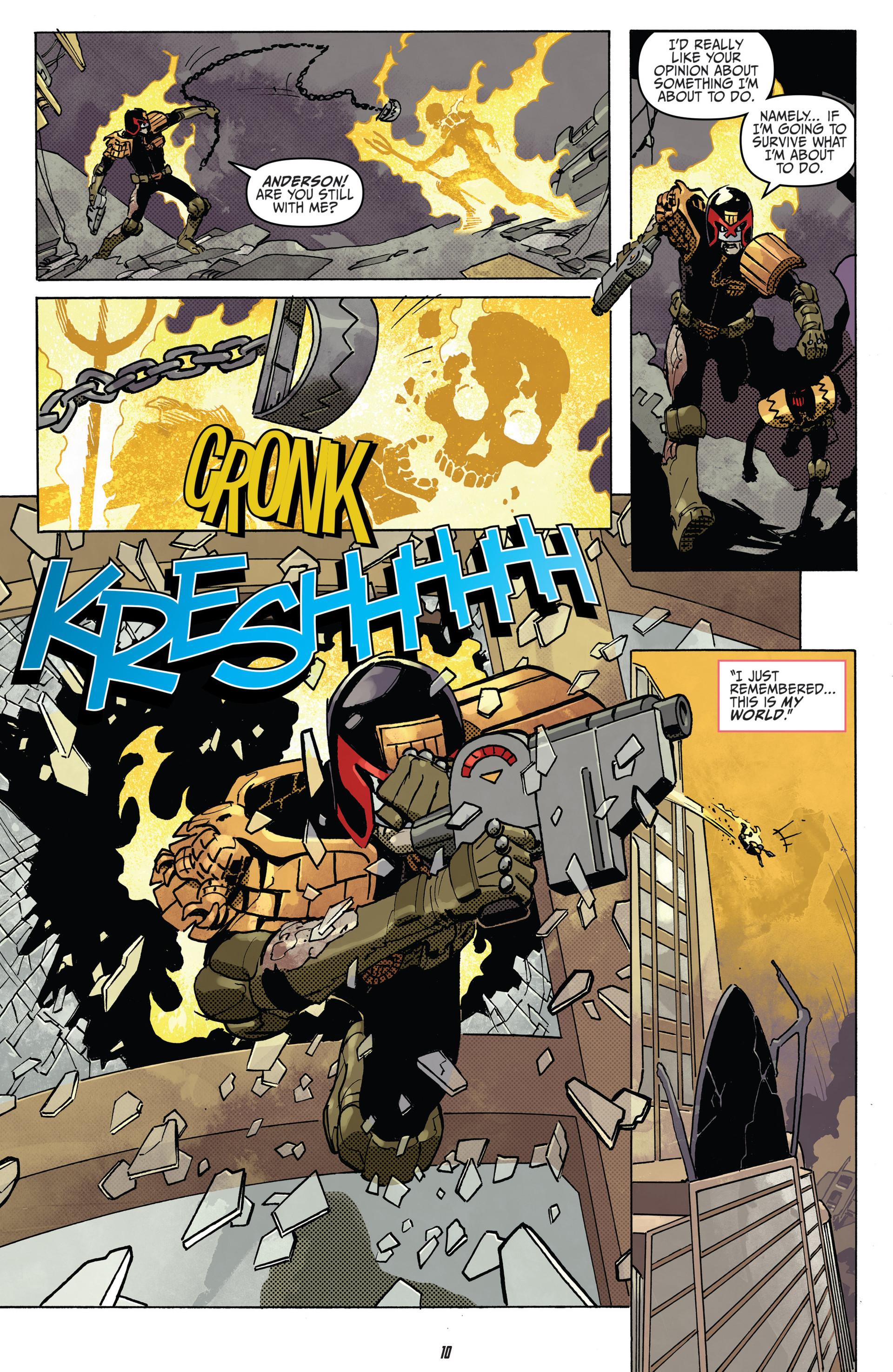 Read online Judge Dredd (2012) comic -  Issue #22 - 12