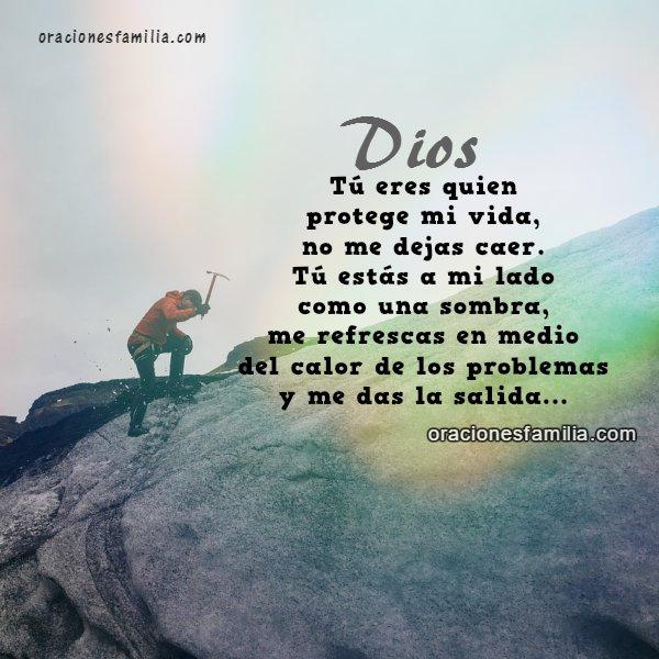 Oración corta del salmo 121, oración de la mañana, buen día pidiendo a Dios protección al salir de casa, inicio de la mañana con plegaria a Dios. Mery Bracho.