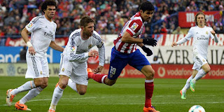 Video Gol Atletico Madrid vs Real Madrid 2 Maret 2014