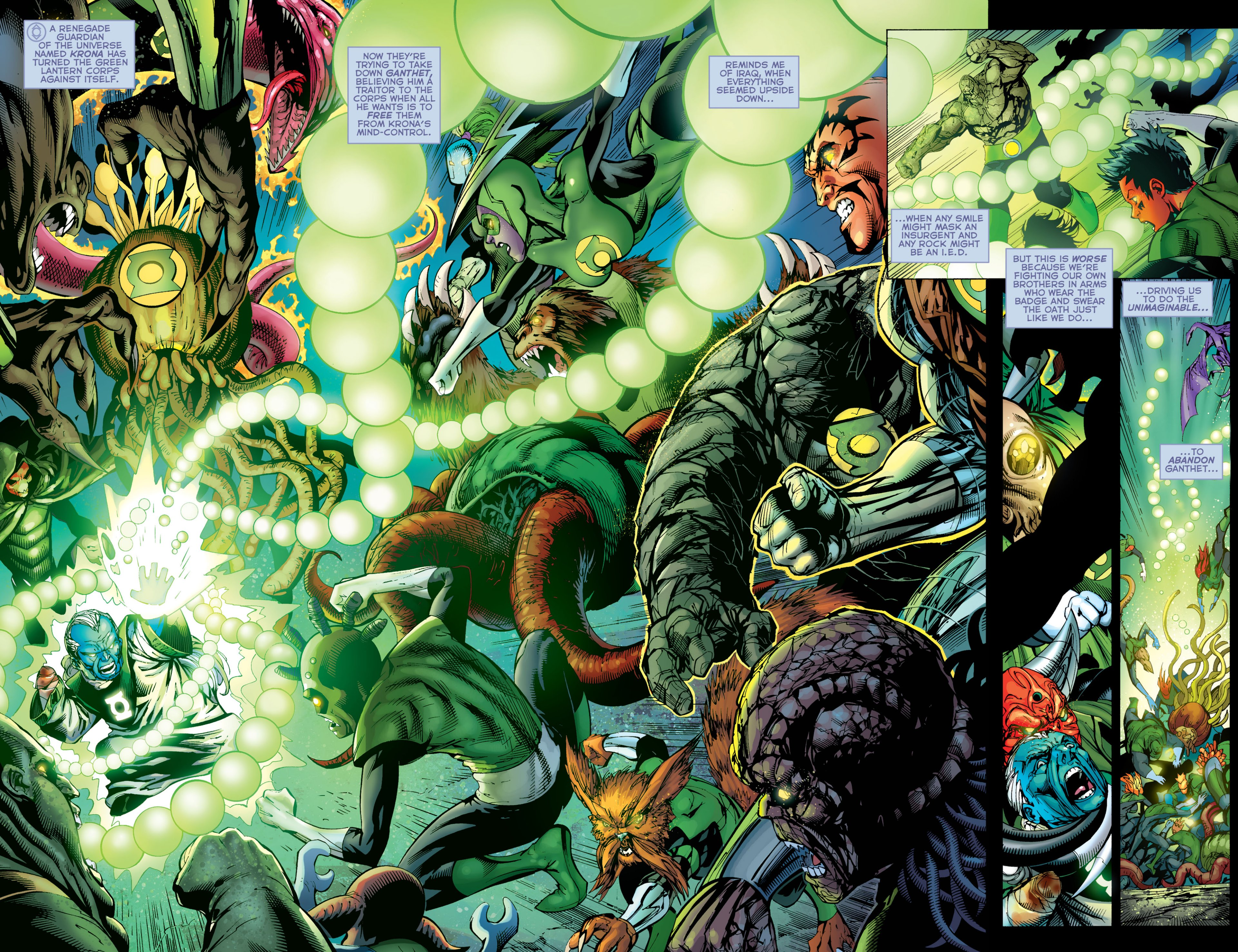 Read online Green Lantern Corps (2006) comic -  Issue #59 - 4