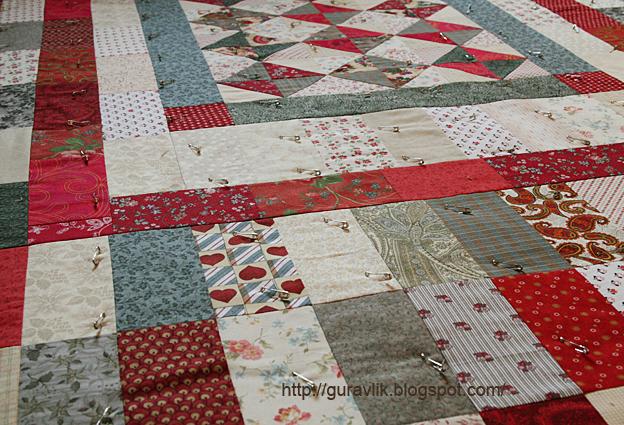 Пэчворк для начинающих: мастер-класс по пошиву одеяла фото 5.