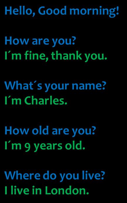 introduce yourself in english sample pdf