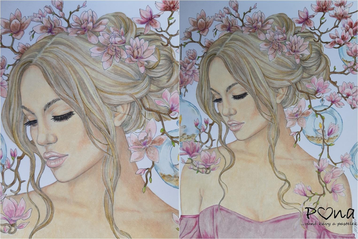 Magnolie ve vlasech