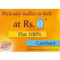 Hidekraft Anniversary Sale Get Flat 100% Cashback on Wallet & Belts :Buytoearn