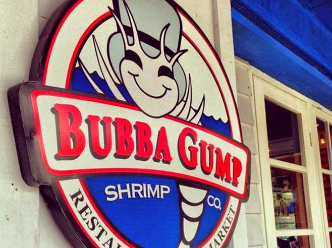 Bubba Gump Shrimp Co Kuta Bali