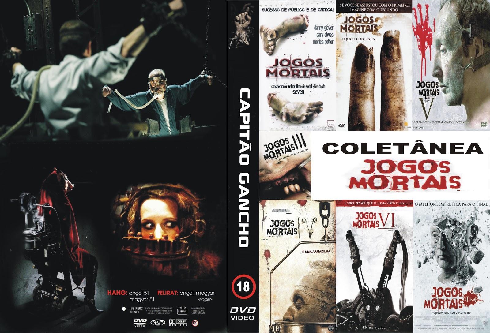 Coleção Jogos Mortais DVDRip XviD Dublado JOGOS MORTAIS COLETANE