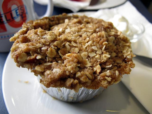 Ten Belles Café - Paris - Crumble pomme poire