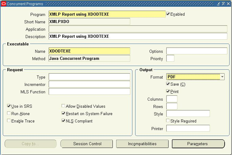 date format in xml publisher template - xml publisher using a data template and xdodtexe oracle apps