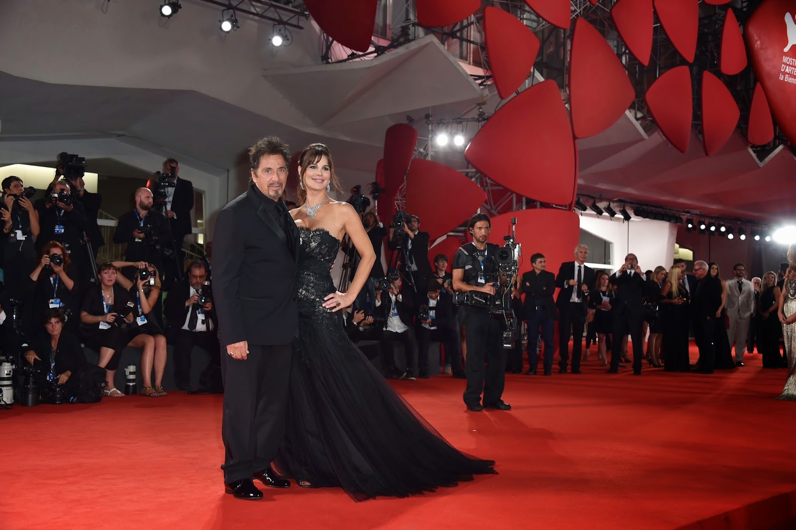 Lucila Sola and Al Pacino at 71st Venice Film Festival