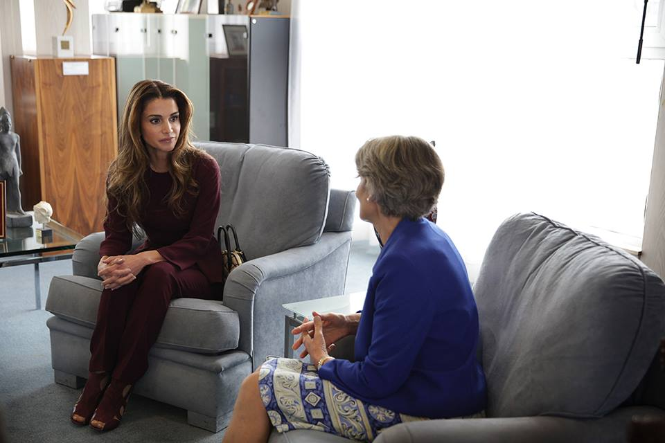 The monarch, who is accompanied by Queen Rania, will travel at the end of his visit to New York, where he will attend the UN General Assembly.