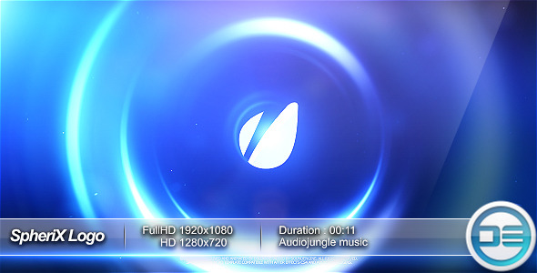 VideoHive SpheriX Logo Intro