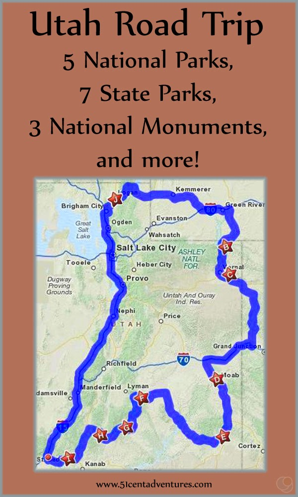51 Cent Adventures Southern Utah Road Trip