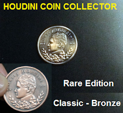 HOUDINI COIN COLLECTOR - Rare Item !!