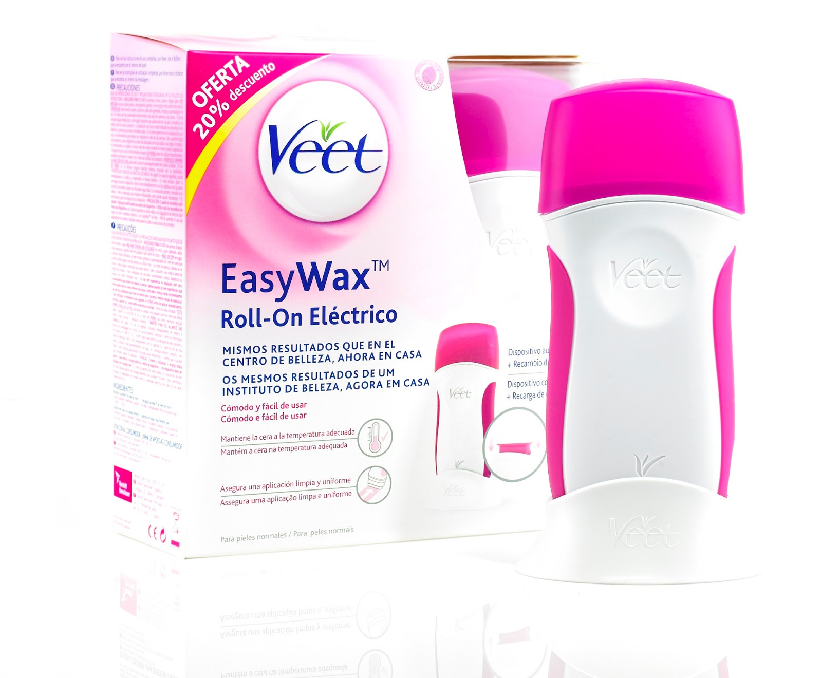 veet easy wax: opinión y precio - no soy tu estilo