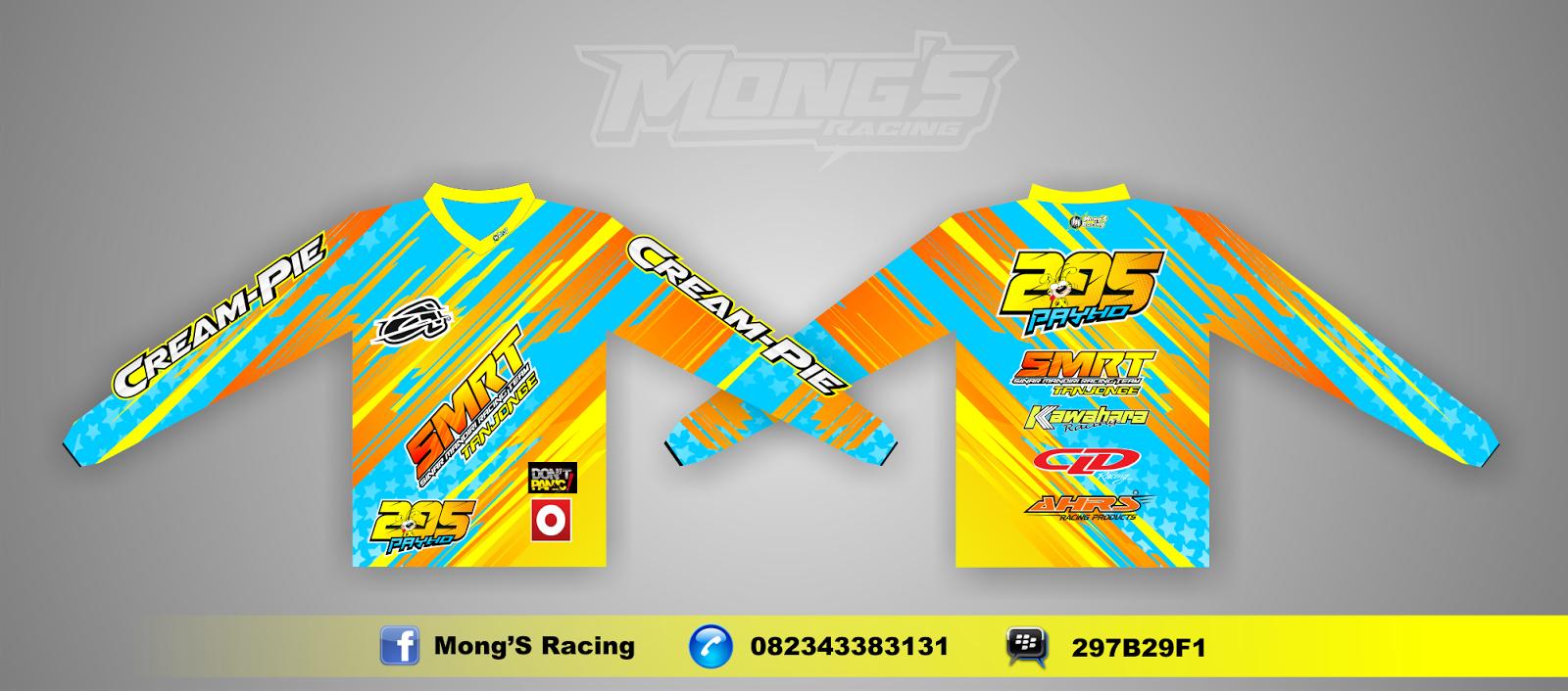 Mong'S Racing: DESAIN JERSEY & JACKET PERINTING