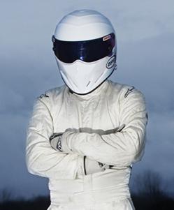 The Stig, personaggio misteriorso della serie britannica Top Gear