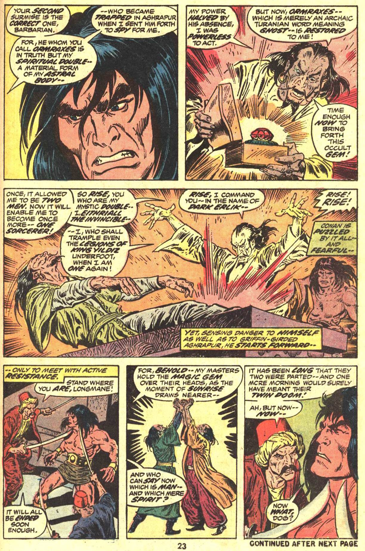 Conan the Barbarian (1970) Issue #29 #41 - English 18