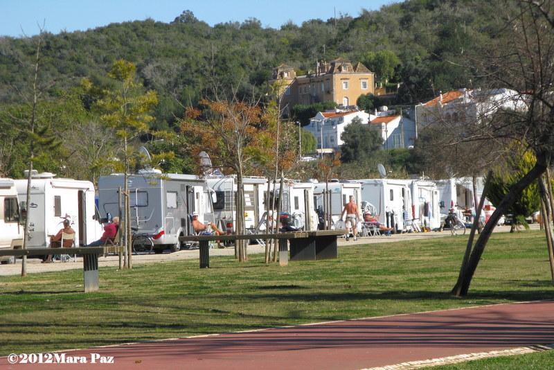 Caravanas em Silves