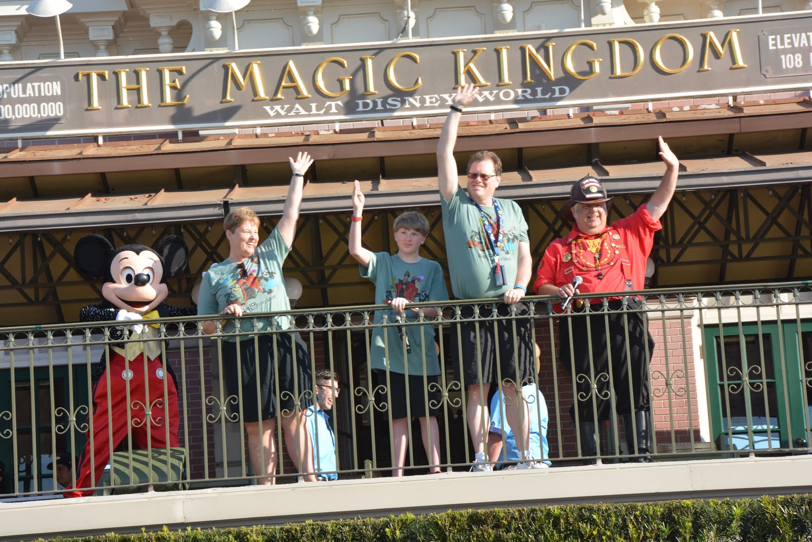Opening Magic Kingdom