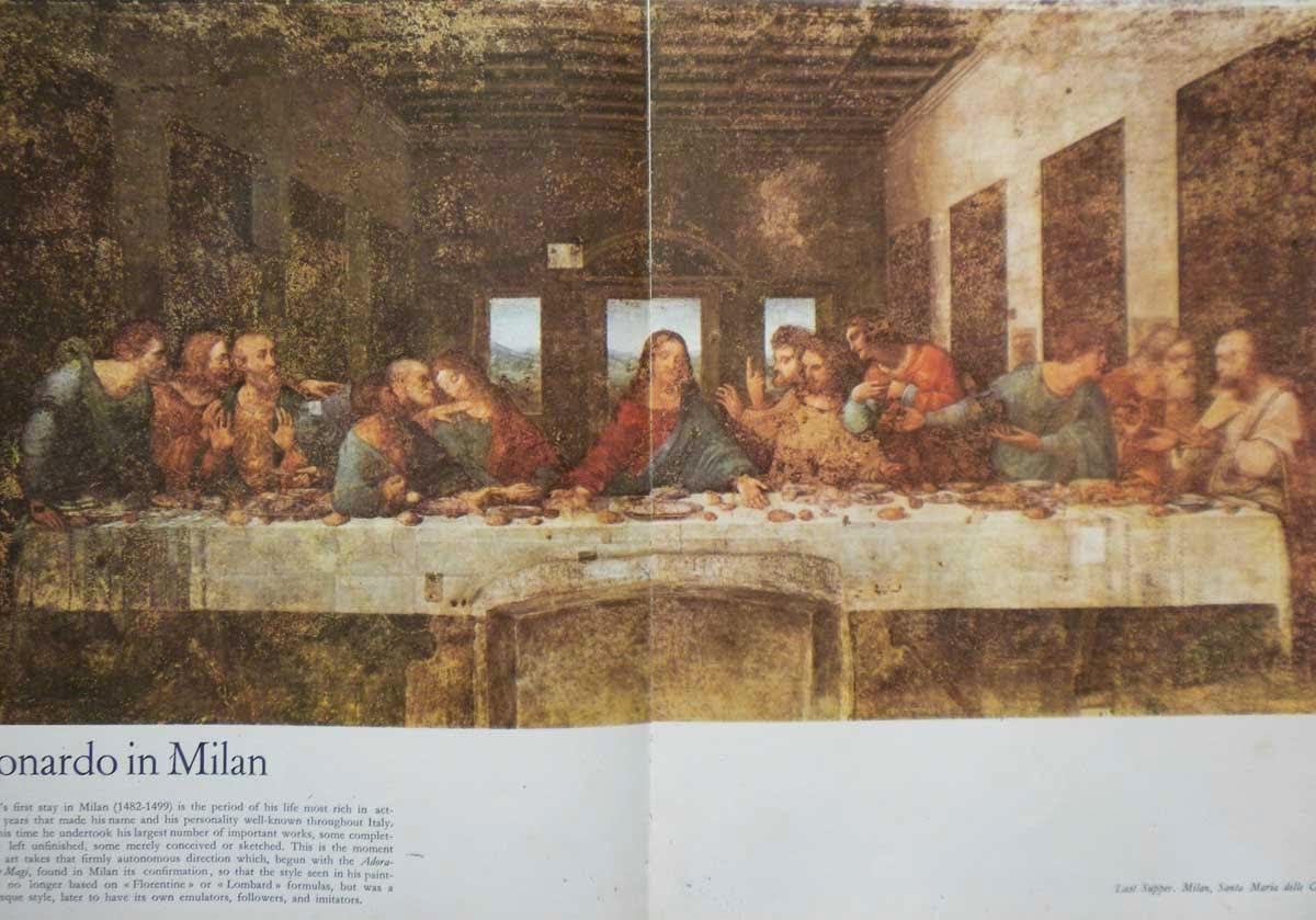2015 Ο ΜΥΣΤΙΚΟΣ ΔΕΙΠΝΟΣ ΤΟΥ Leonardo da Vinci - ΗΜΟΥΝ ΚΙ ΕΓΩ ΕΚΕΙ