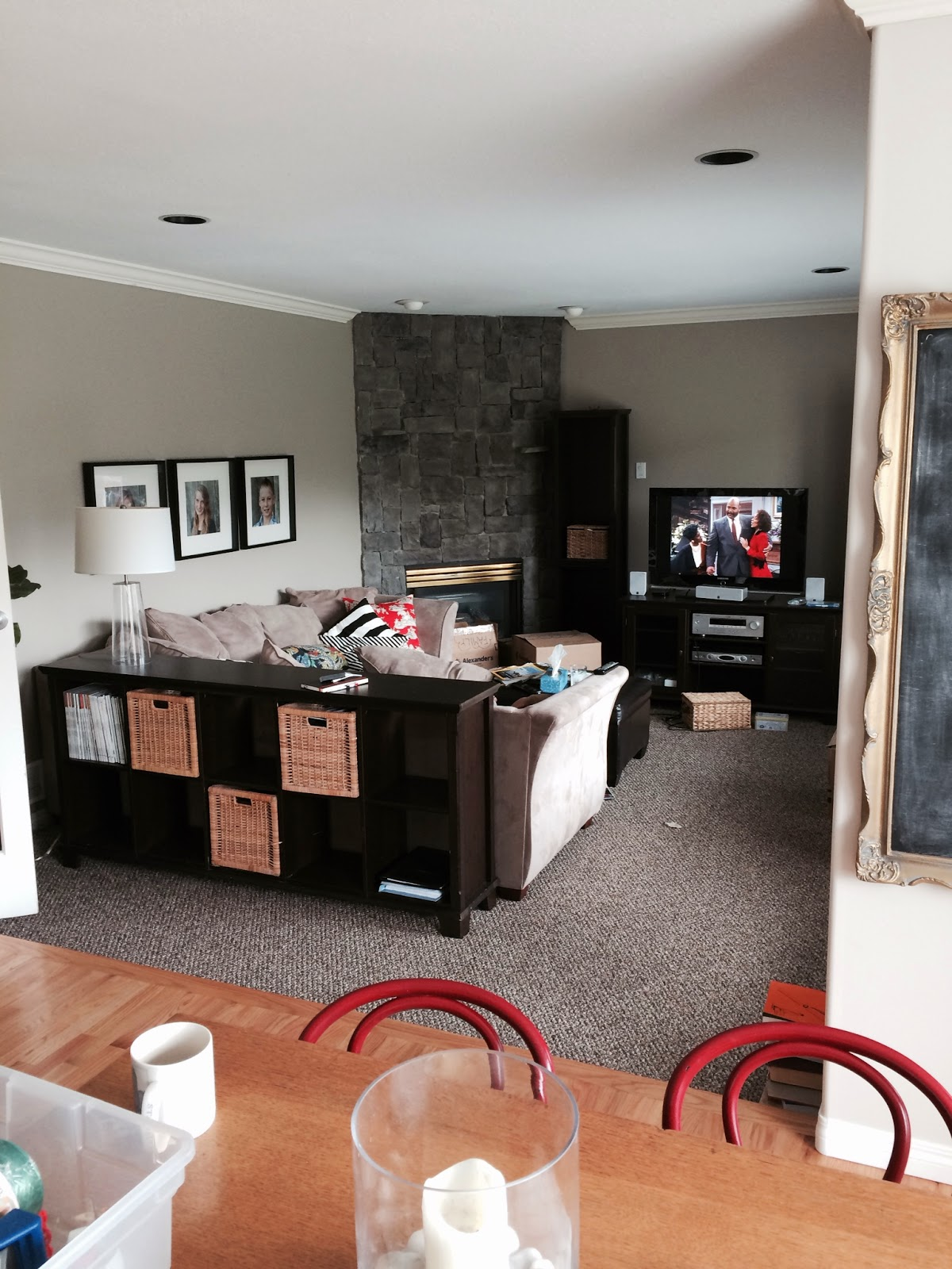 The Family Room Kitchen Command Center