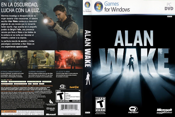 alan wake pc portada