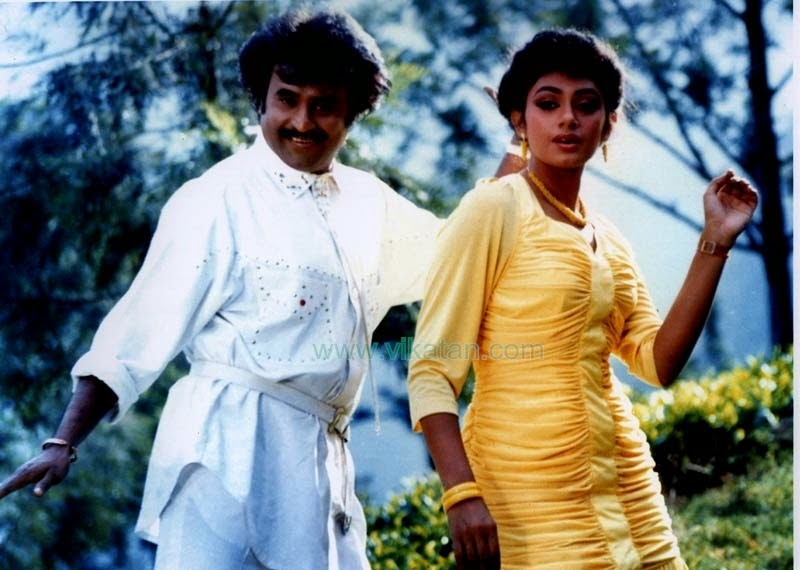RAJINIKANTH & SHOBANA IN 'SIVA' MOVIE