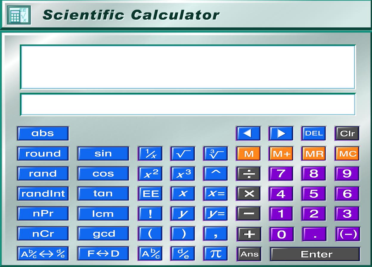 Iphone Scientific Calculator