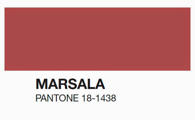 Marsala o Pantone 18-1.438
