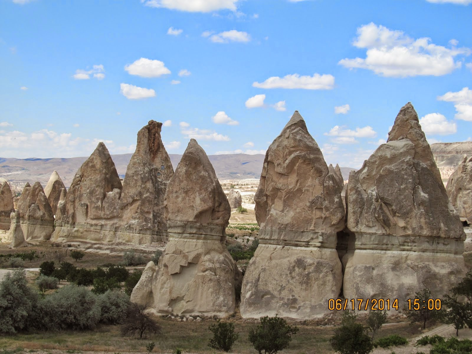 Dunce Cap Pinnacles, Rose Valley, Goreme, Cappadocia (Turkey)