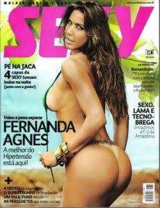 Download Revista Sexy Fernanda Agnes Maio 2011