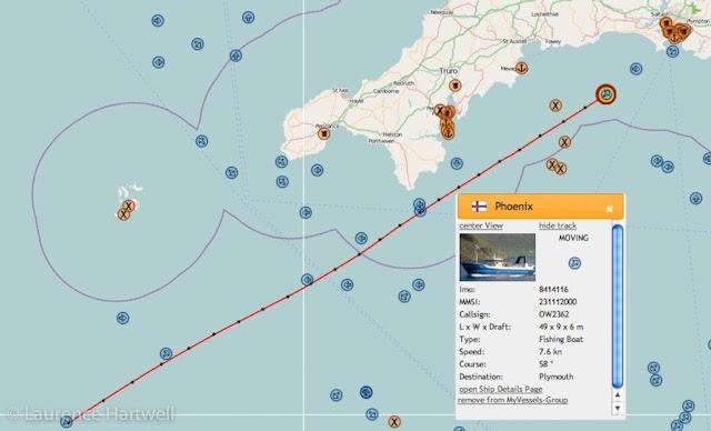 Through The Gaps Newlyn Fishing News Danish Visitor
