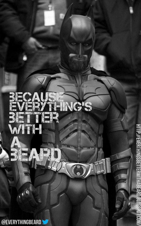 Bearding Batman Batman Beard