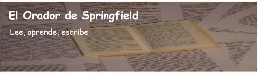 El Orador de Springfield
