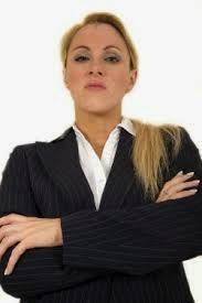 mulher arrogante