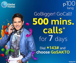 Globe Prepaid GoCALL100