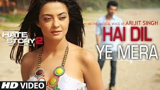 HAI DIL YE MERA VIDEO SONG LYRICS | ARIJIT SINGH | HATE STORY 2