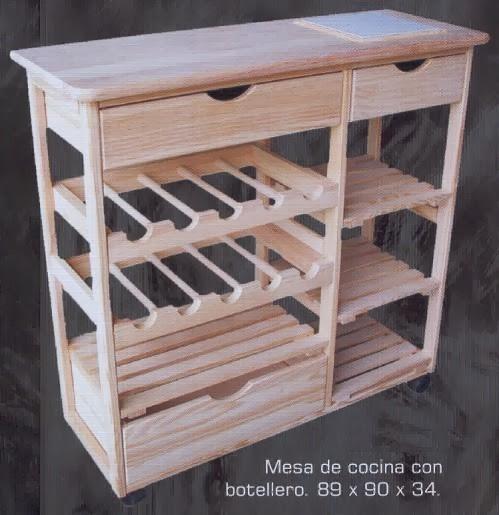 Carpinteria artesanal el madero dise os futuristas for Muebles de cocina de 70 o 90