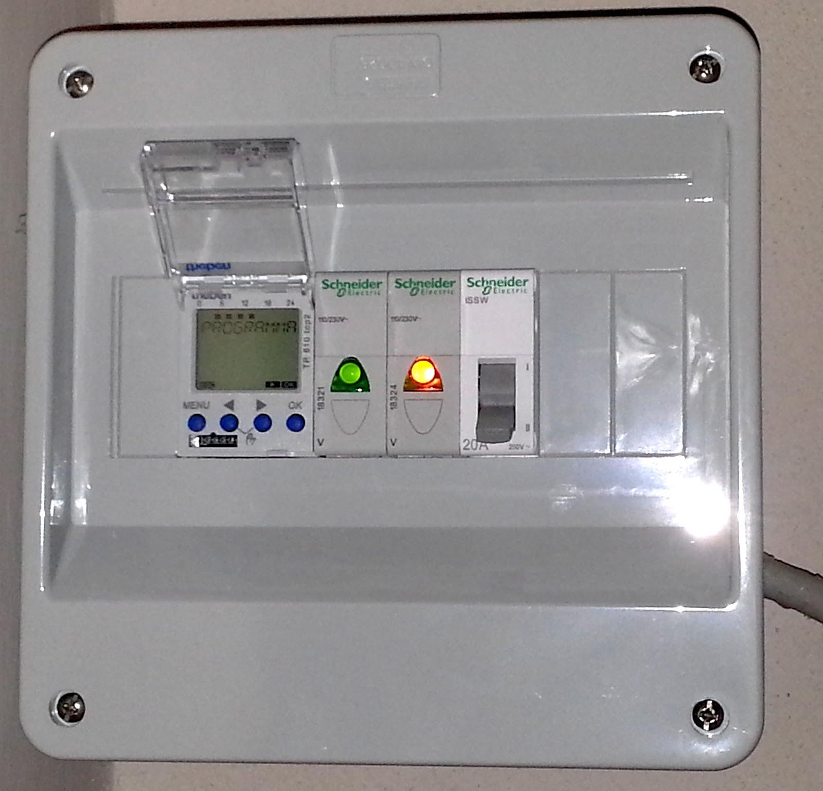 Immagine Quadro Elettrico Con Timer