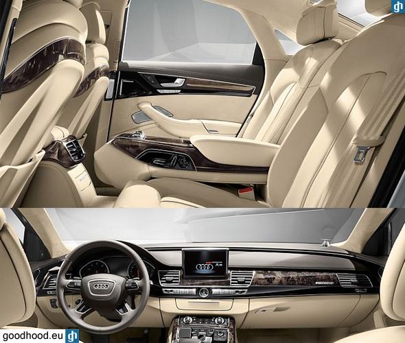 2013 Audi A8 Interior: Audi A8 D4 Facelift / SEDAN / 2014