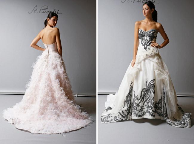 San diego style weddings fashion friday colorful wedding for Wedding dress rental san diego